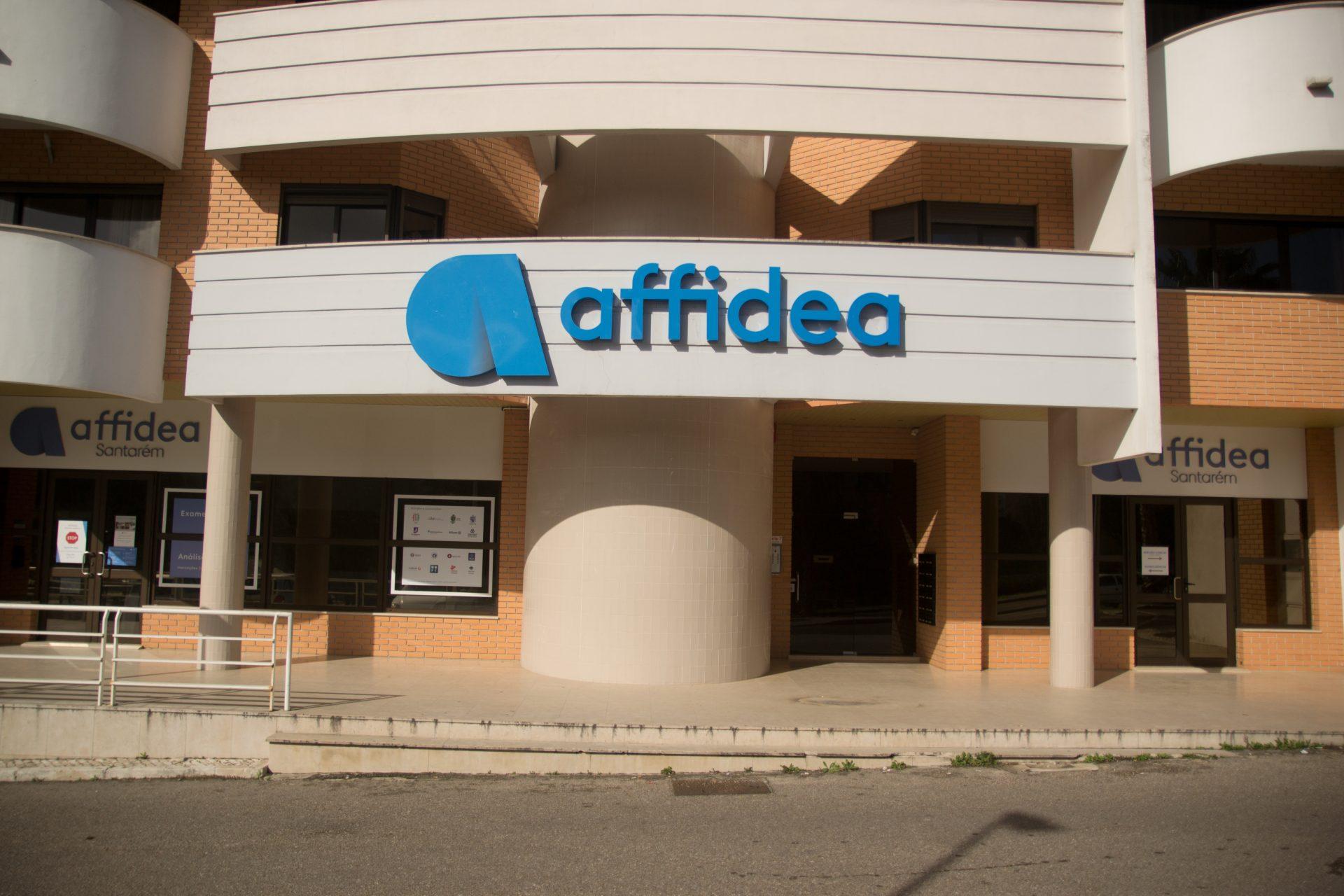 Edifício da Clínica Affidea em Santarém