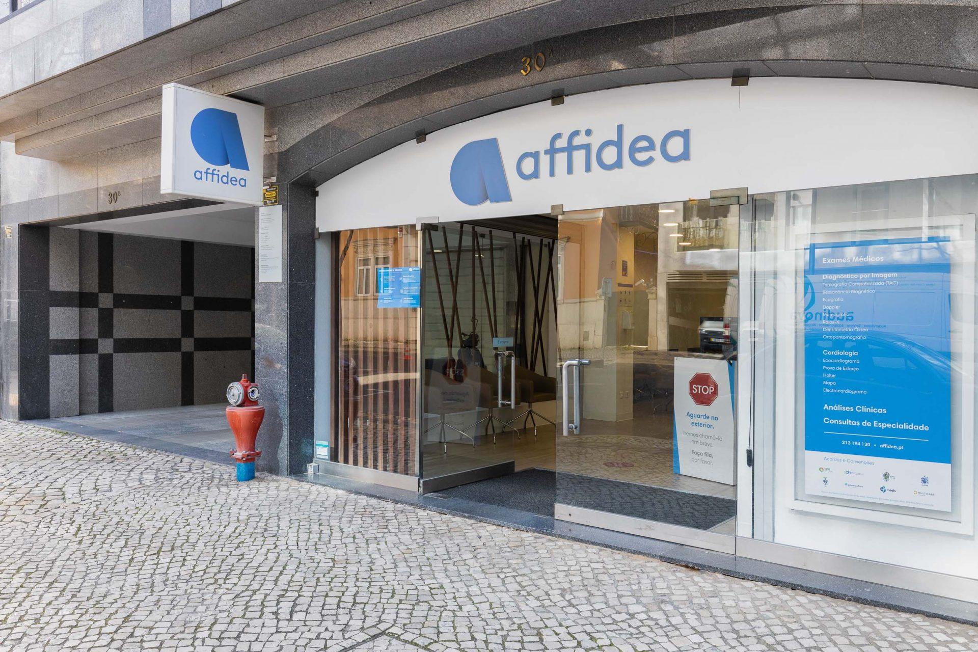 Affidea Saldanha_entrada da clínica